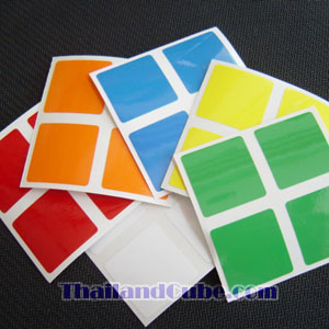 PVC sticker for 2x2x2 Eastsheen
